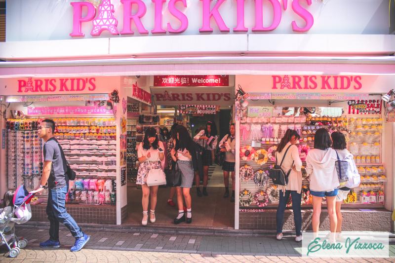 Paris kid's a Takeshita Street