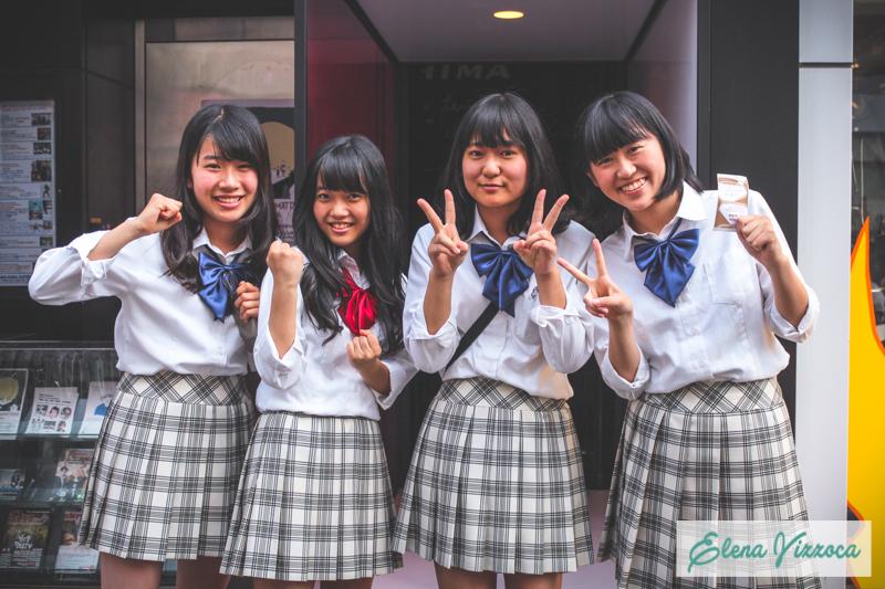 Studentesse ad Harajuku