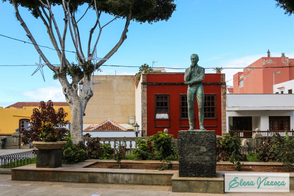 Plaza de la Libertad situata nel cuore di Garachico.