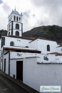 La Iglesia de Santa Ana è la chiesa madre di Garachico dedicata alla patrona della cittadina.
