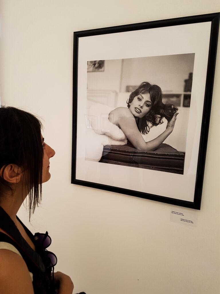 Foto Sofia Loren di Tony Vaccaro