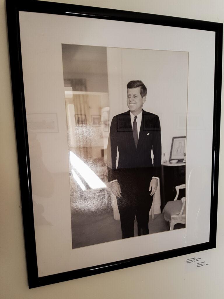 Presidente Kennedy, foto di Tony Vaccaro