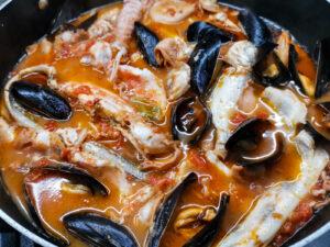 'U vredette: il brodetto di pesce o zuppa di pesce