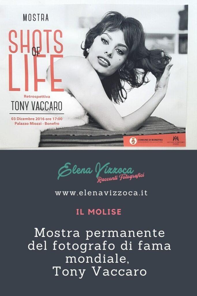 Mostra Tony Vaccaro - Condividi su Pinterest - Grafica 1