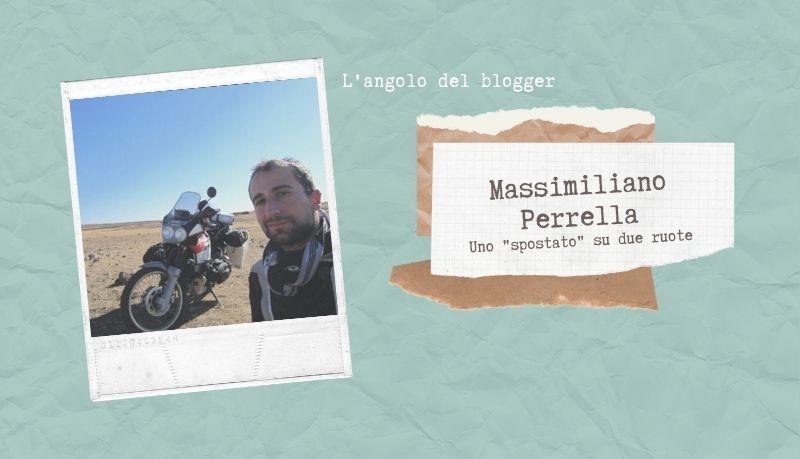 Massimiliano Perrella, uno spostato su due ruote