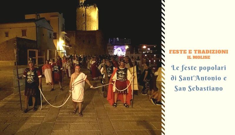 Le feste popolari di Sant'Antonio e San Sebastiano