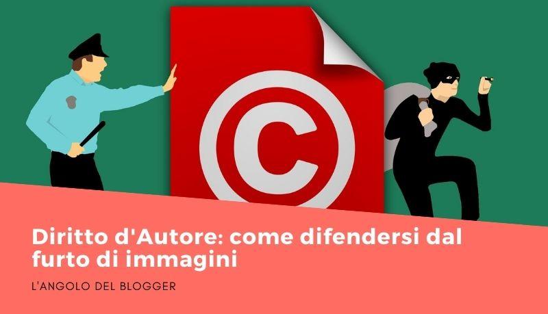 Diritto d'Autore: come difendersi dal furto di immagini