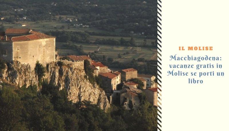 Macchiagodena: vacanze gratis in Molise se porti un libro
