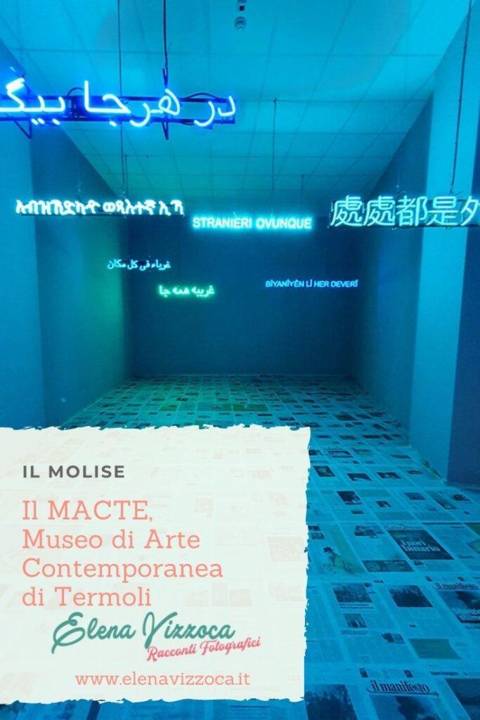 Il MACTE,  Museo di  Arte Contemporanea  di Termoli - Condividi su Pinterest