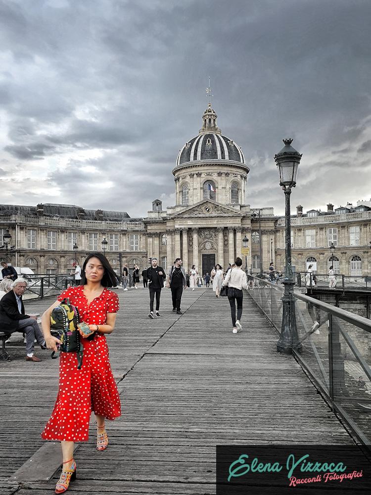 Pont des Arts e Institute de France - Elena Vizzoca